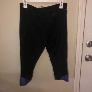 Dry fit Capri workout pants